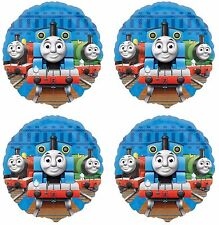 "4x Thomas The Tank Train  Birthday Party Supplies 18"" inch Foil Mylar Balloon"