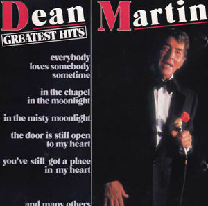 DEAN-MARTIN-GREATEST-HITS-Original-CD-2000-easy-listening-pop-crooners
