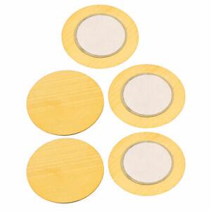 5pcs-27mm-Diameter-Piezo-Discs-Piezoelectric-Ceramic-Copper-Buzzer-Film-Gasket