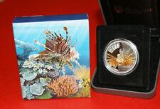 Australia 2009 - LIONFISH Australian Sea Life The Reef - Silver Coin 50c