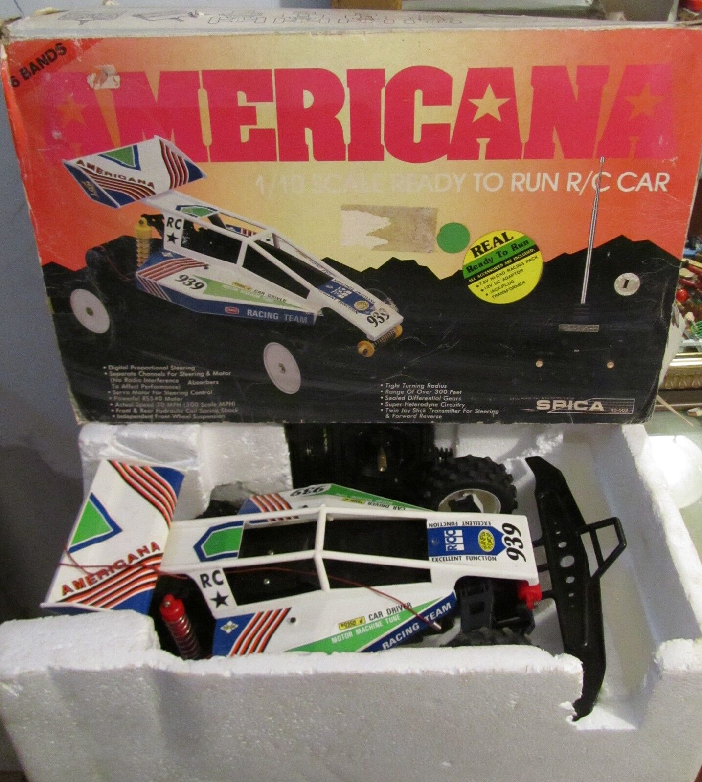 Spica Americana 1/10 RC radiocomando radio tele auto radiocomandata