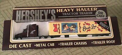NEW K LINE HEAVY HAULER HERSHEY CANDY BARS TRACTOR TRAILER