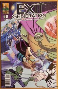 EXIT-GENERATION-2-2015-COMIX-TRIBE-Comics-VF-NM-Book
