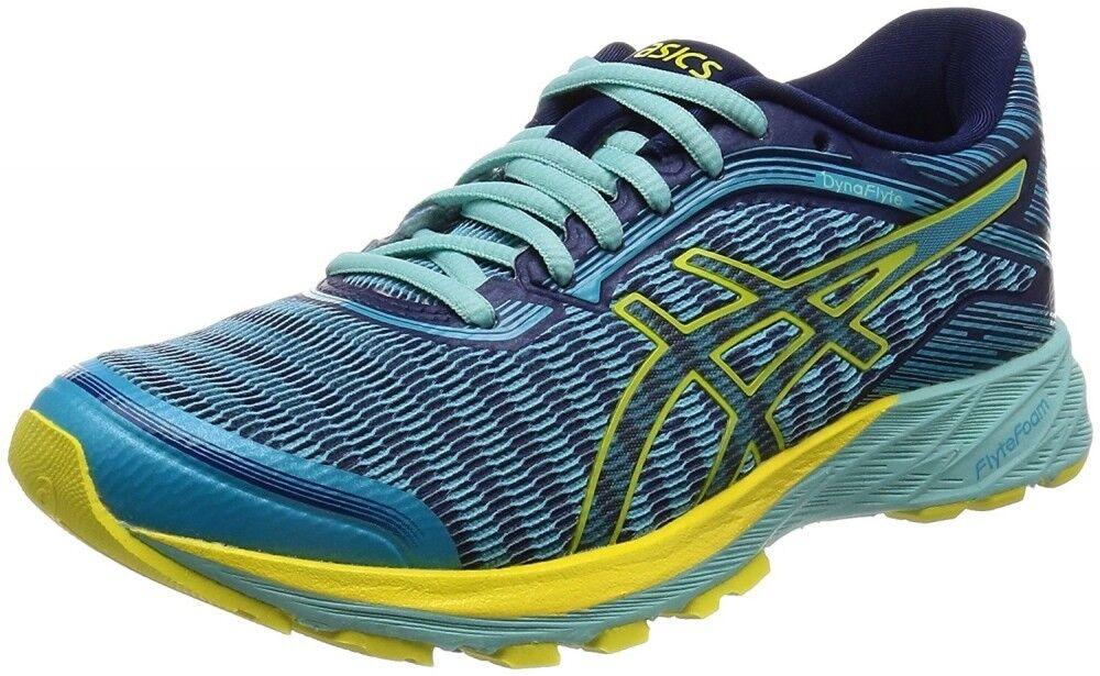 Asics Running shoes Asics LADY DynaFlyte TJG522 Aqua   Yellow