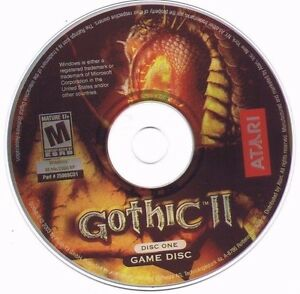 GOTHIC-II-2-Role-Playing-Action-RPS-PC-GAME-Replacement-Discs-1-amp-3-Mint-CD-039-s