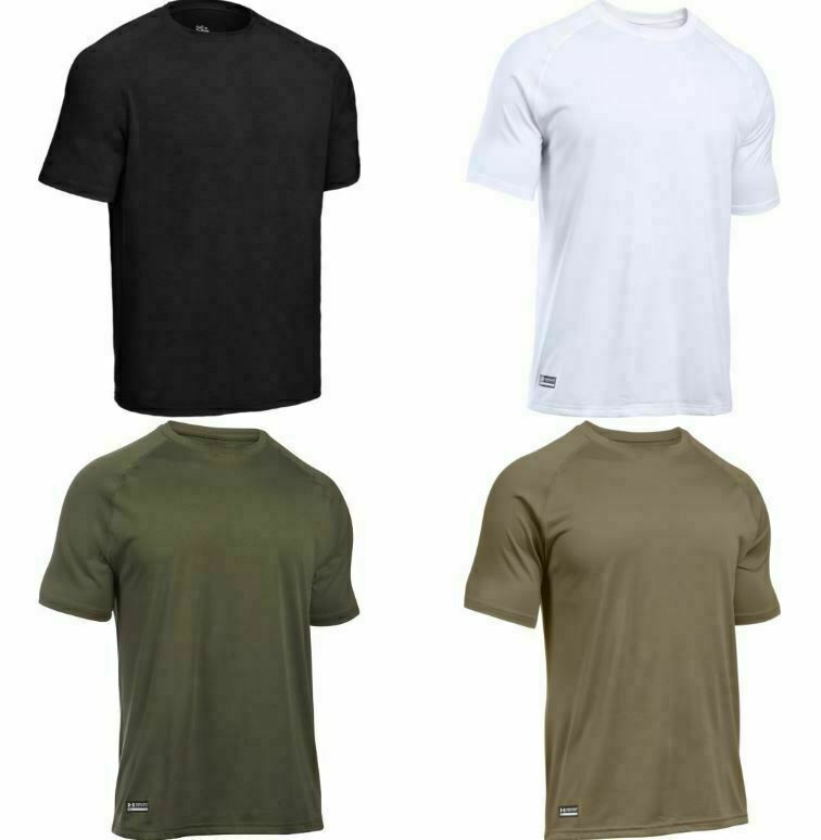 Under Armour 1005684 Men/'s UA Tactical Tech Tee Short Sleeve T-Shirt Size S-3XL