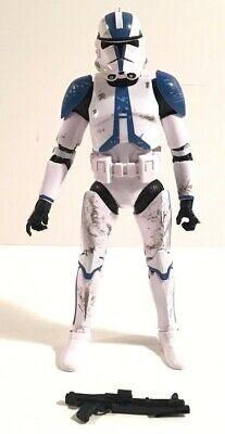 """Star Wars CLONE TROOPER 3.75/"""" Figure 501st Legion Order 66 Jedi Temple Assault"""