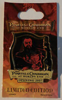 Disney Pin Pirates Of The Caribbean At World's End Countdown 6 Sao Feng