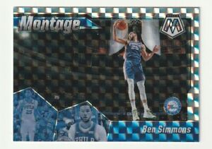 2019-20-Panini-Mosaic-Prizm-Silver-Montage-Ben-Simmons-Hobby-76ers-SP-17