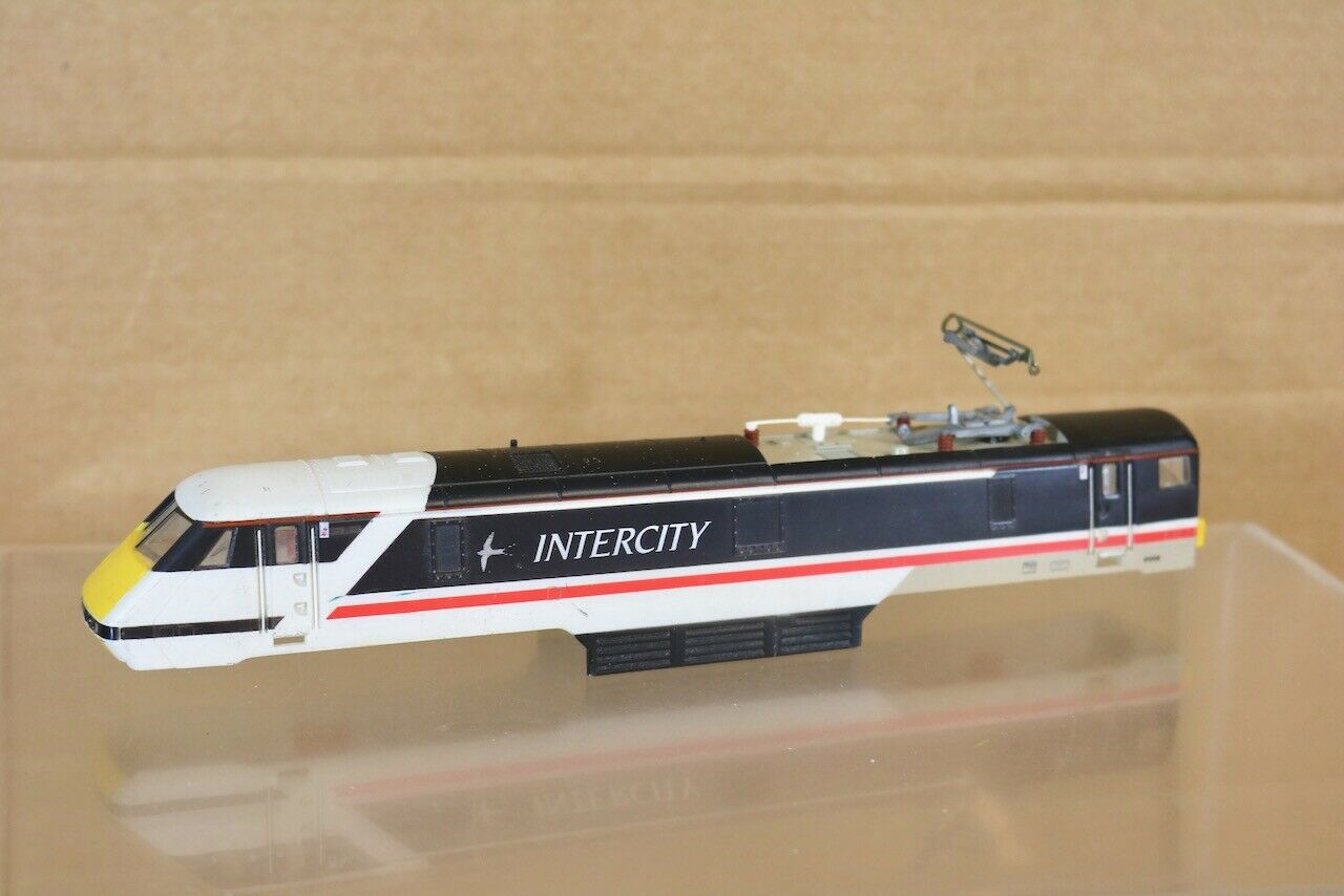 HORNBY R240 BODY ONLY & LED LIGHTS for BR INTERCITY CLASS 91 ELECTRIC LOCO 91008
