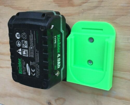 Qty:1 Kielder Type 18 18 V Batterie Support Mural Support Pour Garage//Atelier//van