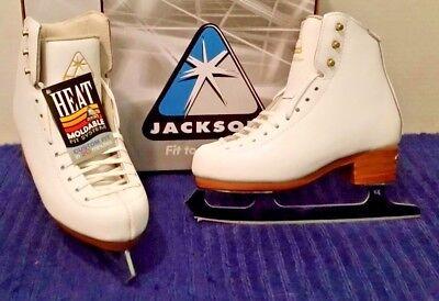 Jackson 2017 DJ 2401 Competitor w/Mirage girls ice skates NEW!