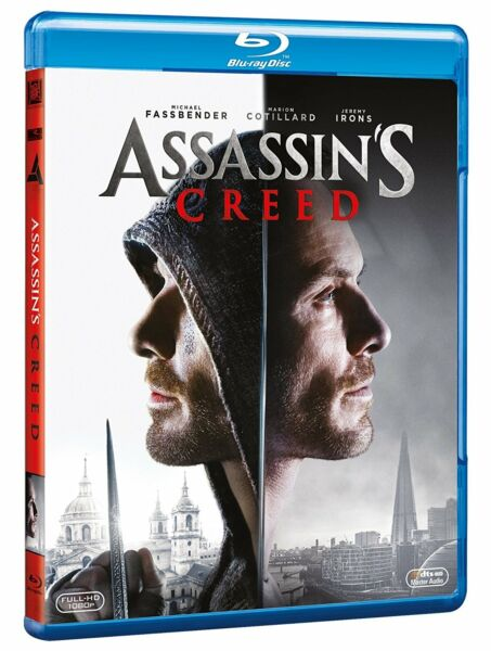 Assassin's Creed (blu-ray Disc) Con Michael Fassbender, M Cotillard