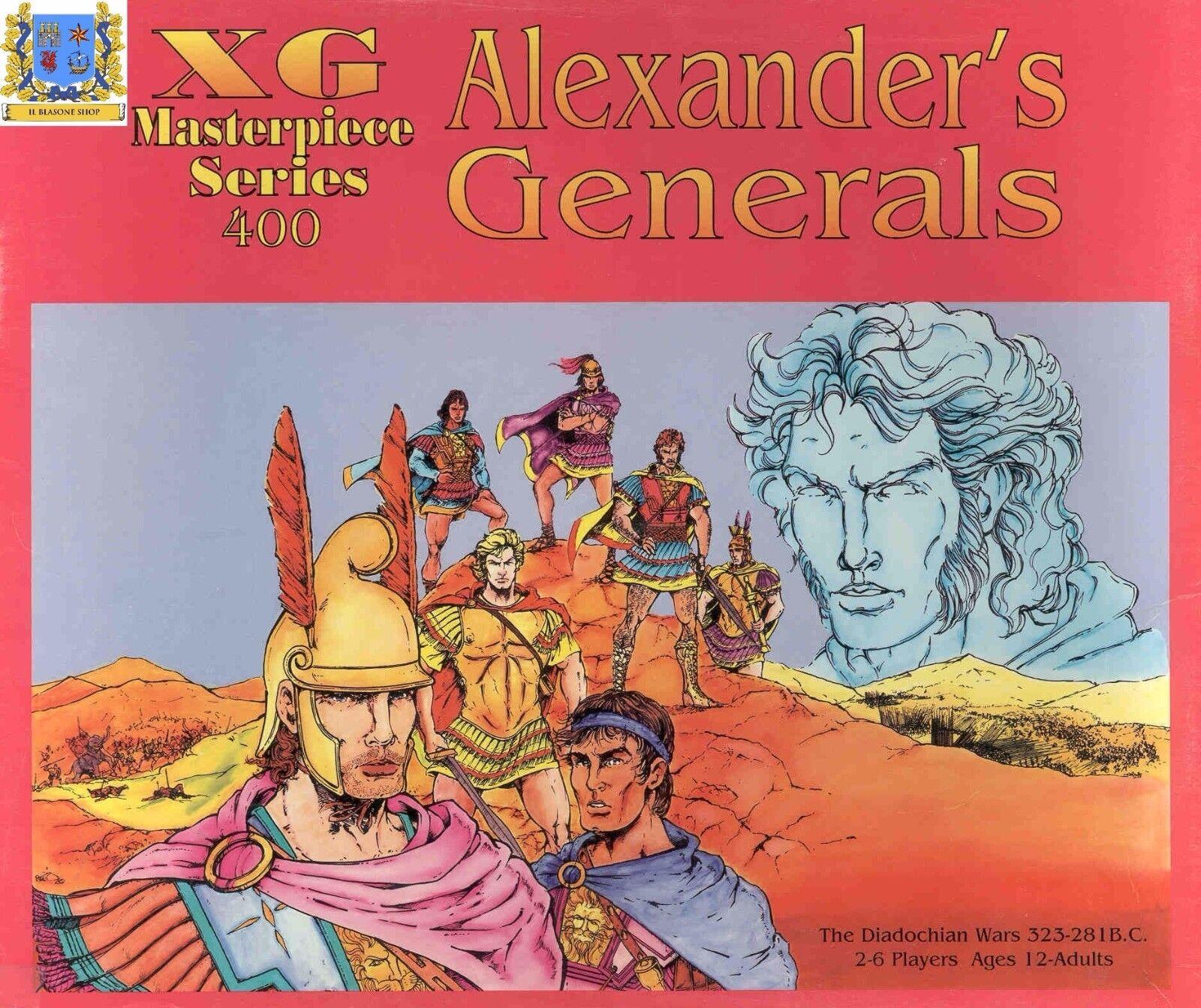 Alexeer's Generals tavola gioco gioco gioco Alessero Magno gioco da tavolo Xeno giocos a255b9