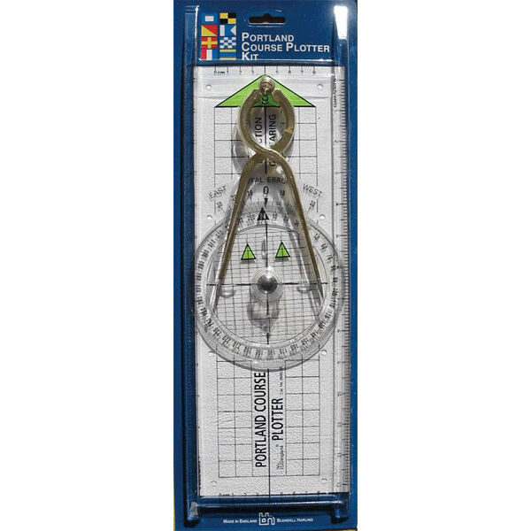 Portland Course Plotter Kit & Dividers Chart Plotting Sailing Boating - New Z35