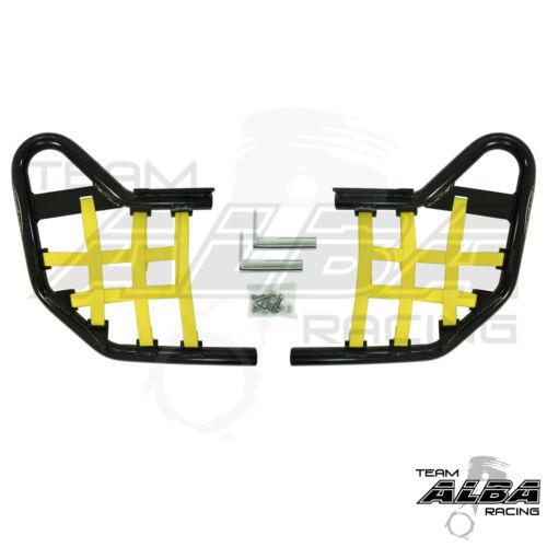 Yamaha Raptor 660   Nerf Bars   Alba Racing Pro Elite Black Yellow 203 T1 BY