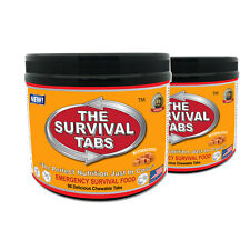 2x90 Strawberry Survival Tabs Non Gmo Food Supply for Army Student Camping (BUT)