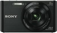 Sony Cybershot W830 Black Digital Camera Dscw830b
