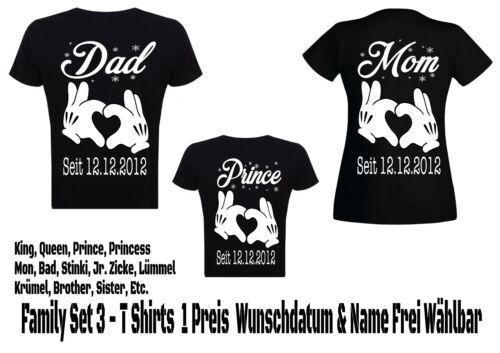 Famiglia Vestiario shirt Look Papà Set T Mamma 3 Partner Hipster Coppia wqz6tzE