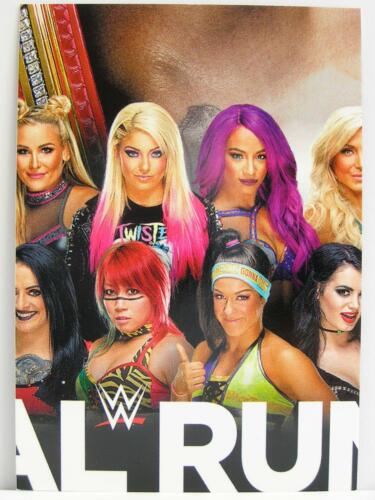 Slam Attax #375 Royal Rumble Group picture-Live 2018