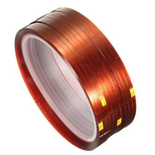 10 rolls 33mx3mm Heat Resistant Heat Temperature Adhesive Tape Sublimation W7J2
