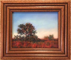Original Miniature Pastel Painting from New Mexico artist Sharon Jensen