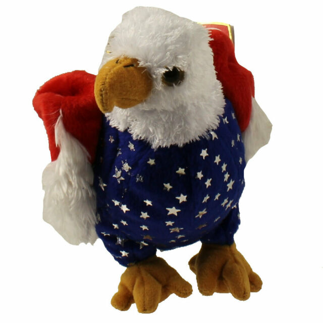 FREE the Eagle - MWMT/'s Stuffed Animal Toy TY Beanie Baby 5.5 inch