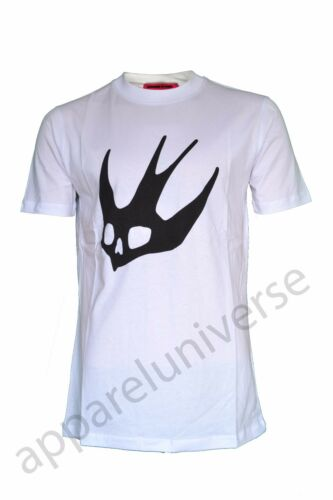 Alexander Mcq Rare Mcqueen Bianco T Bnwt Stampa Bird shirt Big Swallow wxX6Oq7C