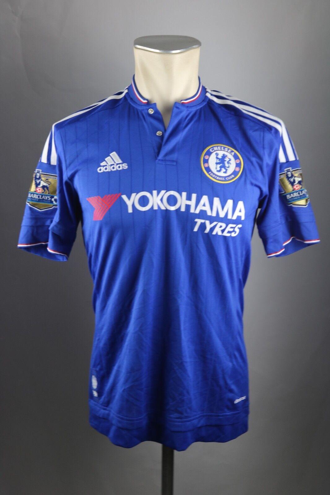 Chelsea London Trikot Gr. S Hazard 2015-16 Jersey Adidas