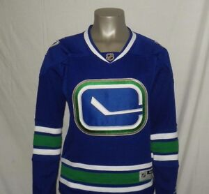 cc47e3fea78 Image is loading Vancouver-Canucks-Women-039-s-Reebok-Premier-NHL-