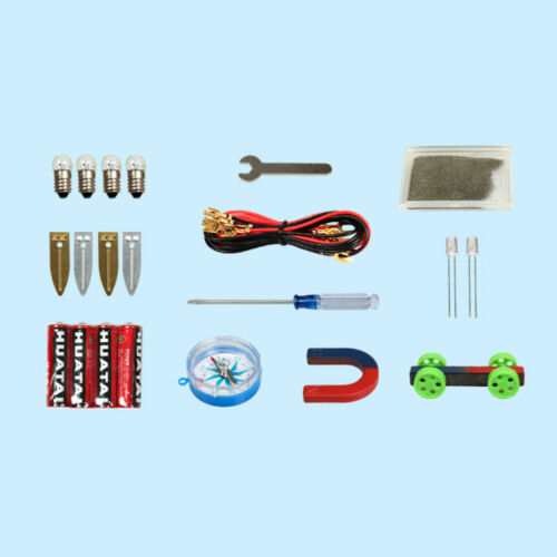 Physics Labs Electricity Circuit Magnetism Experiment Kit for Junior High School