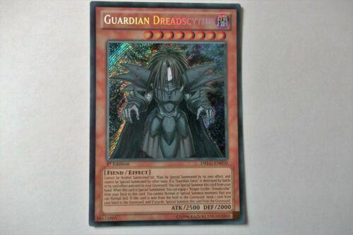 DRLG-EN010 Guardian Dreadscythe Secret Rare 1st Edition Yu-Gi-Oh