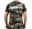 "Indexbild 2 - Tunnel Shirt ""UNDERGROUND RULEZ"" Camouflage Boys • Größe S"
