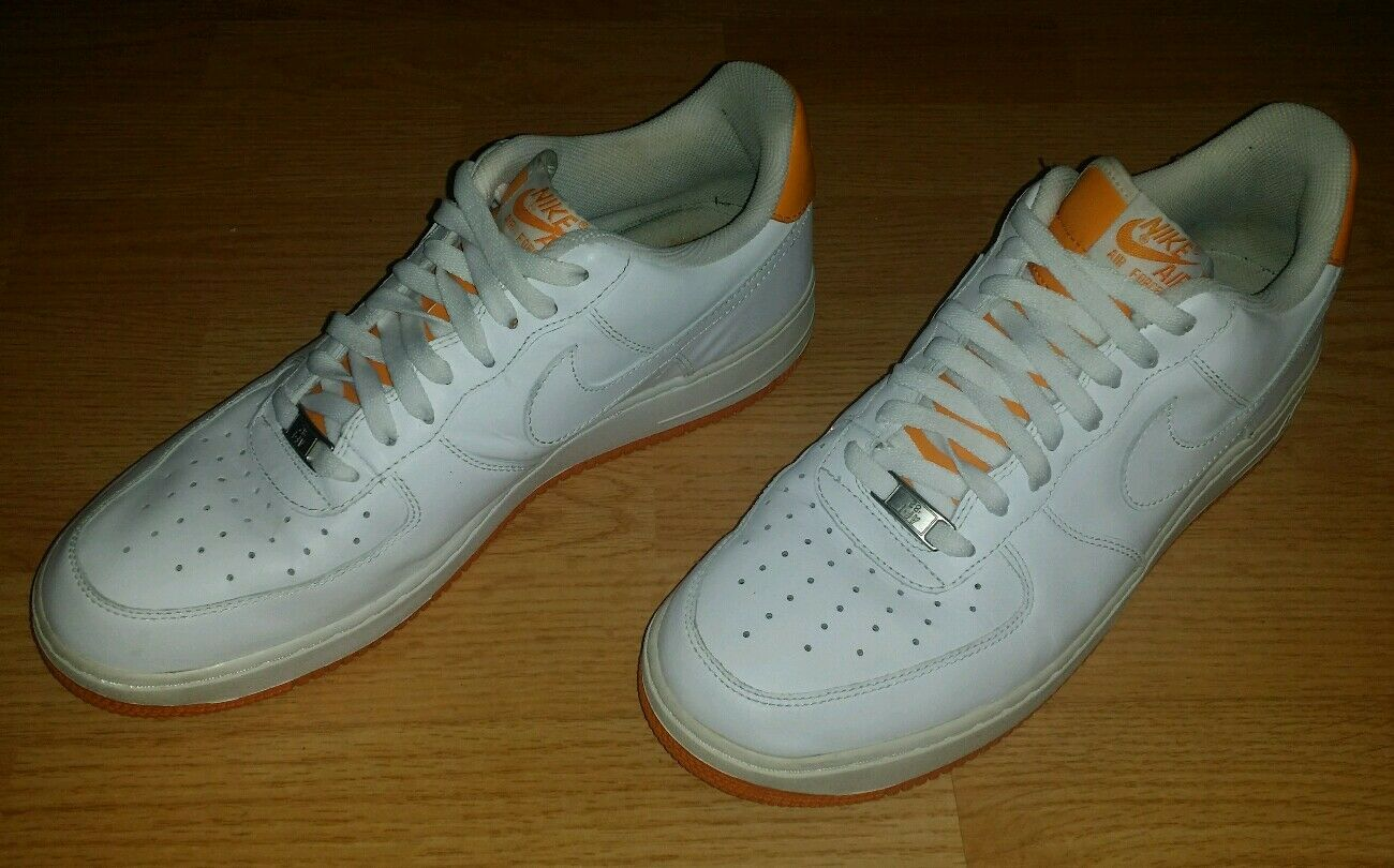 Men's Nike Air Force 1 Low Shoes Size 11.5 (315212-117) (M-62)