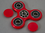 Fidget Spinner Hand Spinner EDC Pocket Finger Kreisel Anti Stress ADS ADHS Fokus
