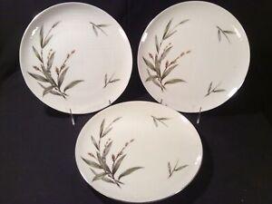 "Lot 3 Lanikai by Roberts Bamboo 10 ⅛"" Dinner Plates - Mint"