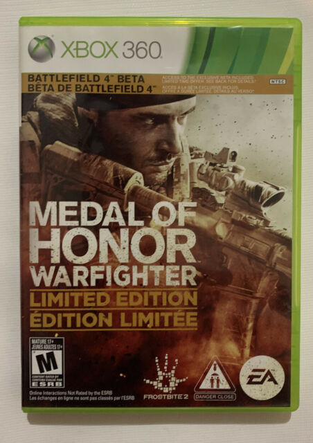 Medal of Honor: Warfighter Limited Edition (Microsoft Xbox 360, 2012)