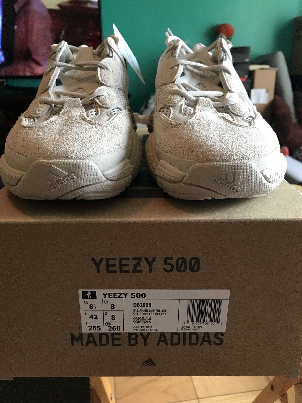Adidas Yeezy 500 Desert Rat bluesh Size 8.5
