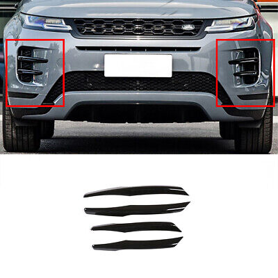 For Range Rover Evoque 2019 2020 Glossy Black ABS Front ...