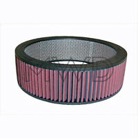 "New High Flow Oil Type Washable/Reusable Air Cleaner Filter Element 14""x5"""