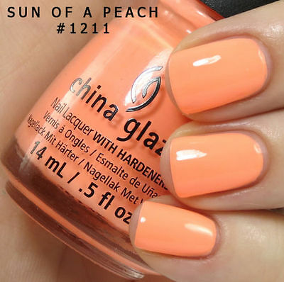 China Glaze Nail Polish - Sun Of A Peach - 14ml - #1211