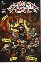 Lot Of 2 Comic Books Quality Sam Slade RoboHunter #1 and Samurai Cat #1 ON7