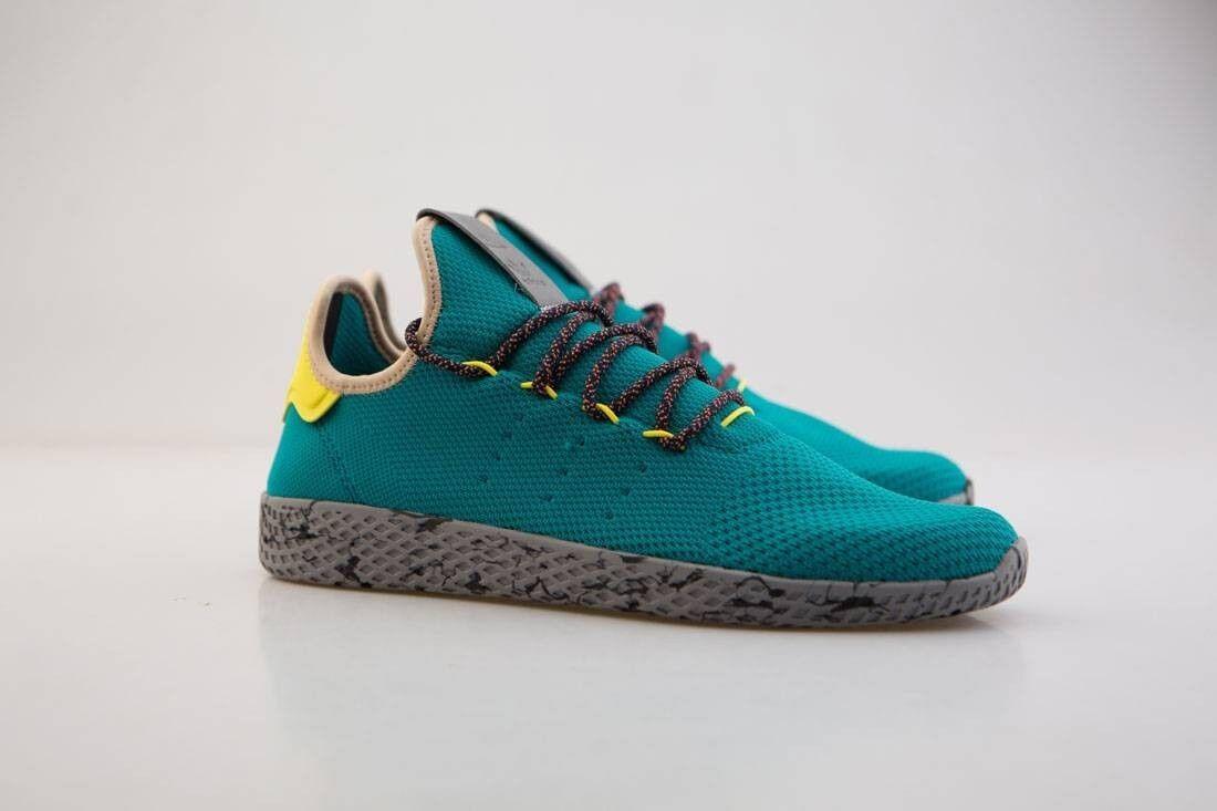 CQ1872 Men Adidas x Pharrell Williams PW Men CQ1872 Tennis HU Green Teal cd6faa