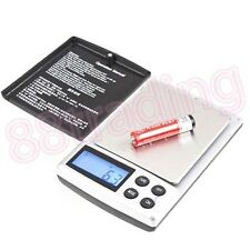 Small Mini Digital Pocket Size Weighing Weigh Scale 0.1g - 1kg up to 2kg