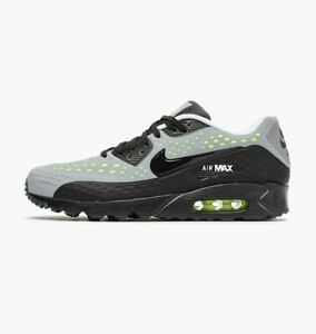 Details about Nike Men's Air Max 90 Ultra BR Breathe Sz: 6 NEW 725222-007 Wolf Grey Black Volt