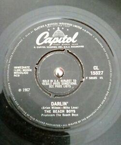 The-Beach-Boys-Darlin-Vinyl-7-034-Single-UK-Capitol-CL-15527-1968
