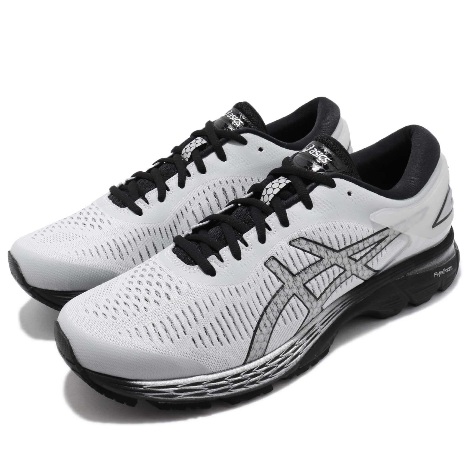 58b4521f1f57 Asics Gel-Kayano 25 2E 2E 2E Wide Grey Black Men Running Shoes Sneakers  1011A029