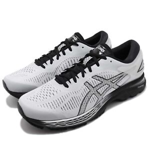 Asics-Gel-Kayano-25-2E-Wide-Grey-Black-Men-Running-Shoes-Sneakers-1011A029-021