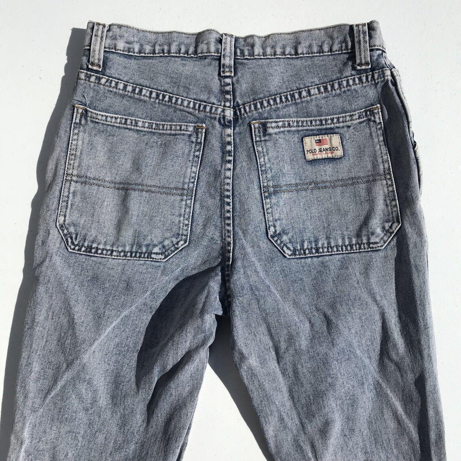 Polo Ralph Lauren Jeans Men's Size 31 Acid Denim  S
