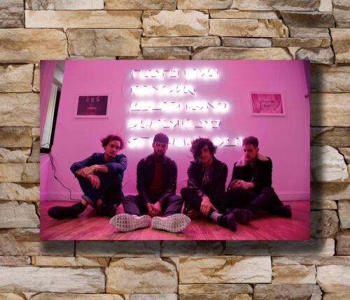 Hot THE 1975 Matthew Healy Rock Music Band Fan New Art Poster 12x18 24x36 T-1904